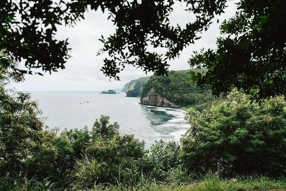 View of Hamakua Coast Cliffs, Pololu Valley
