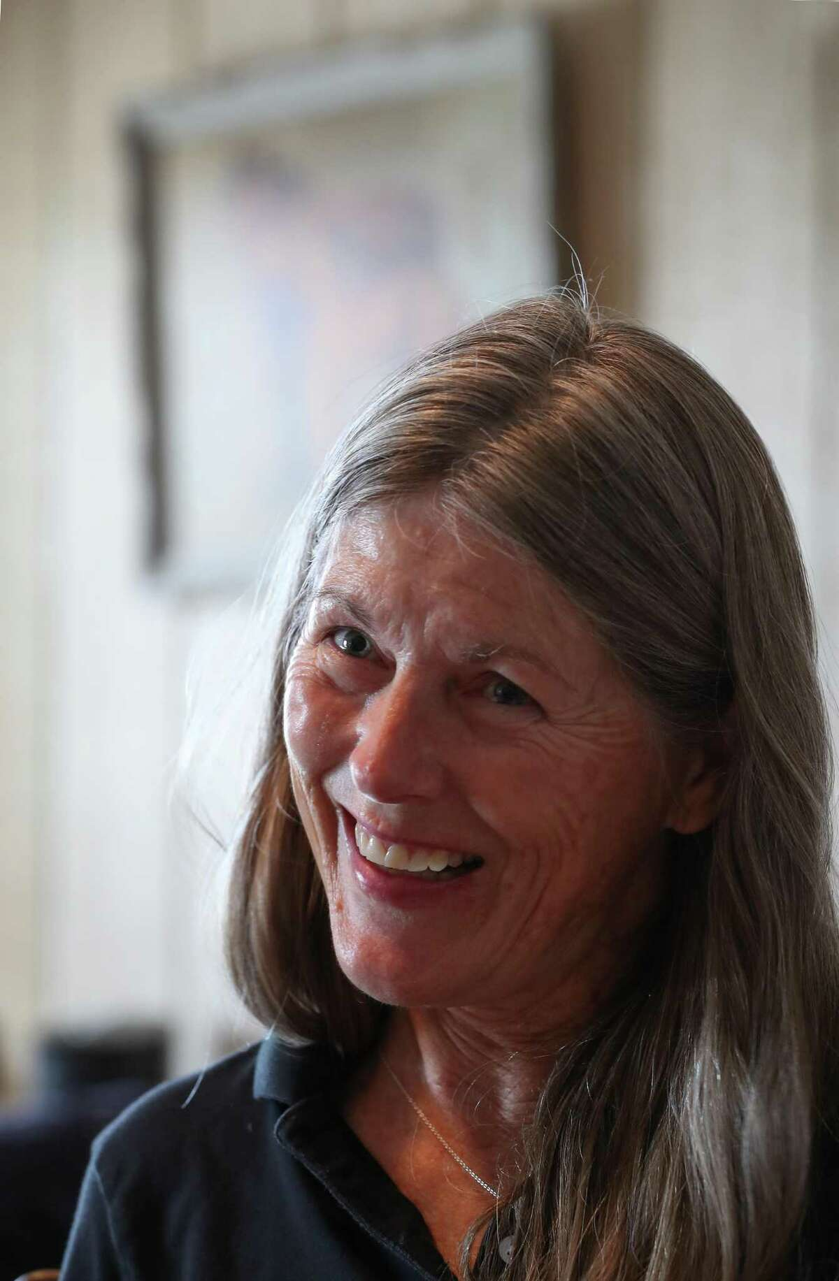 Rebecca Williams, executive director of Habitat for Horses, an equine rescue, and protection sanctuary talks about her passion for horses Friday, Aug. 23, 2019, in Alvin.