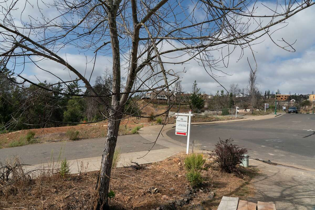 Lots being sold on Orbetello Ct. on Thursday, Sept. 26, 2019 in Santa Rosa, Calif.