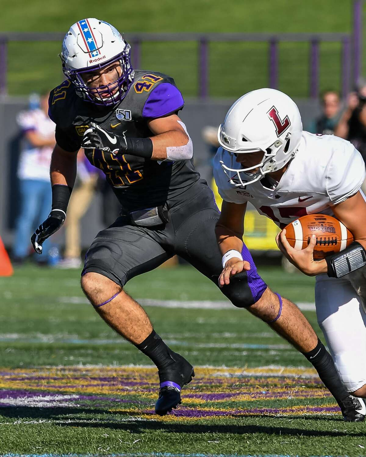 UAlbany's A.J. Mistler is a former walk-on who received a full scholarship prior to this season. (Bill Ziskin/UAlbany athletics)