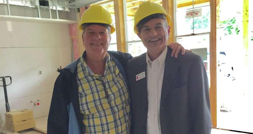 T. Norman Rea, left, and Perry James Junjulas (photo courtesy T. Norman Rea)