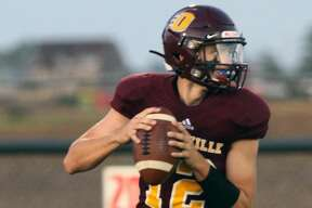 The Deckerville Eagles scored 54 first quarter points on the way to a 70-14 victory over Burton Atherton.