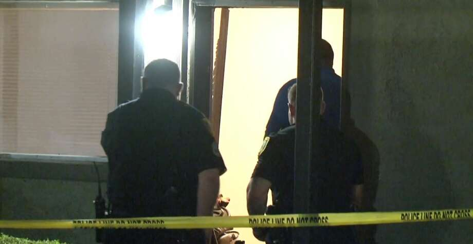 A woman was shot in her home after police said three males forced their way in by kicking down the door. Photo: Metro Video Services