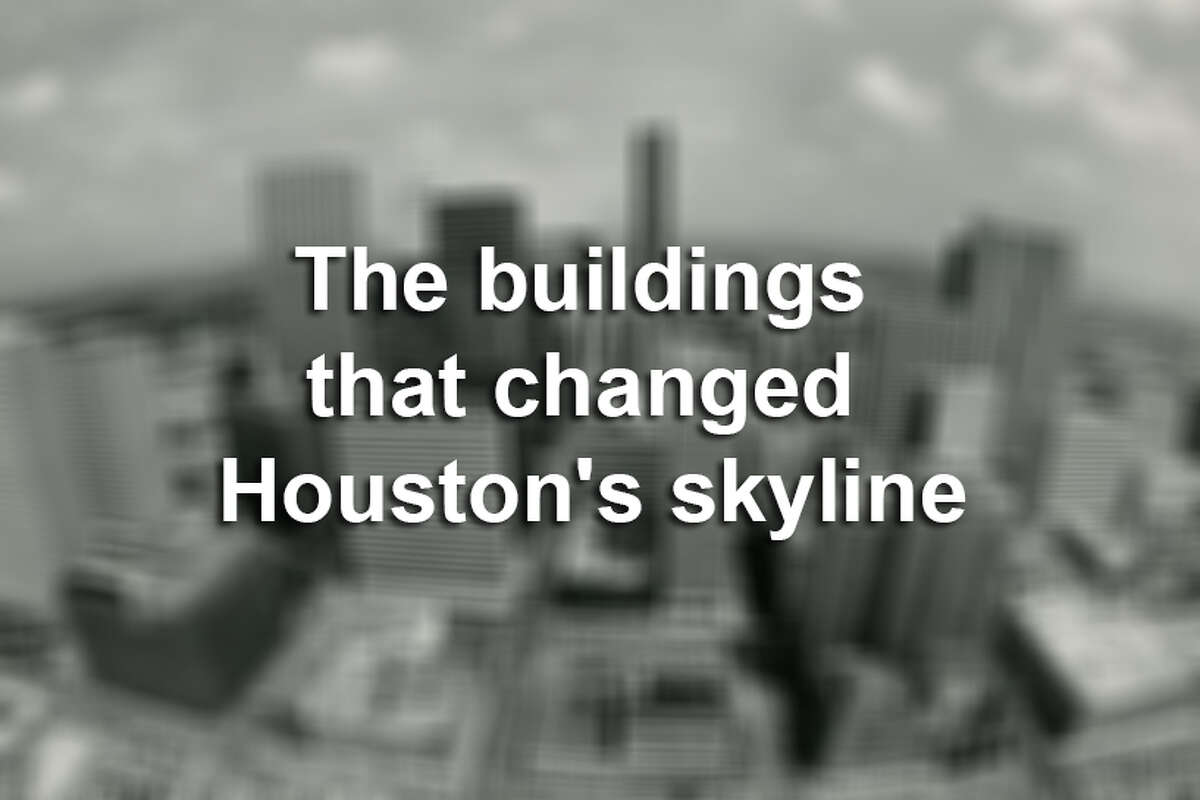 >> Click through the following gallery to see old photos of the buildings that changed Houston's skyline.