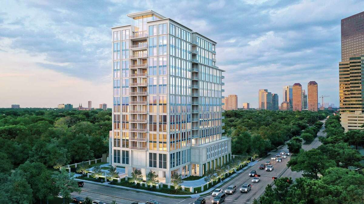 Pelican Builders is developing The Hawthorne, a 17-story condominium project at 5656 San Felipe at Chimney Rock in the Galleria area. The 17-story building was designed by Kirksey Architecture with interiors by Lauren Rottetof Rottet Studio.