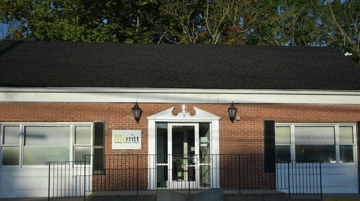 The Merritt Federal Credit Union office at 3 Danbury Road.