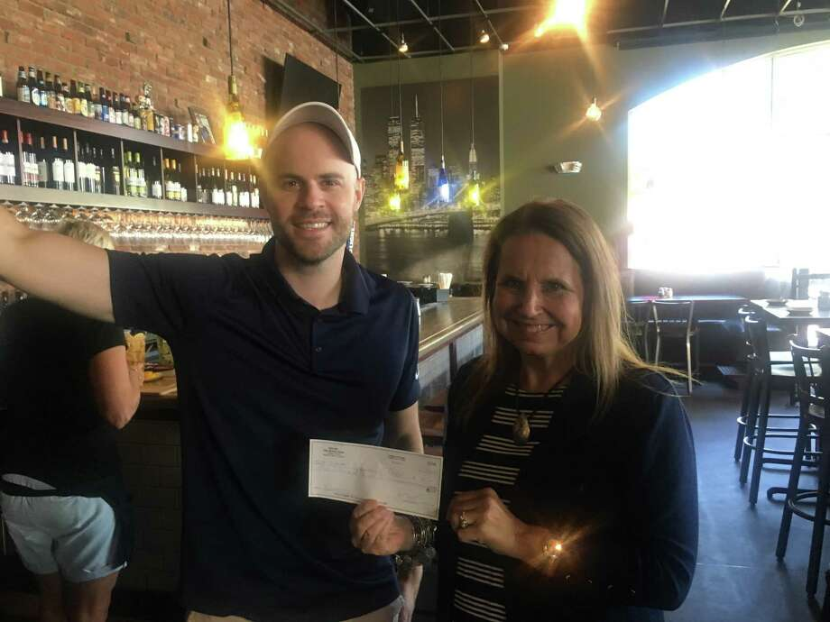 Mondo Restaurant in Middletown hosted the 5th Annual Give Back Night, donating just under $400 to Water's Edge Center for Health & Rehabilitation 2019 Walk to End Alzheimer's Team. The event was held Aug. 20. Photo: Contributed Photo