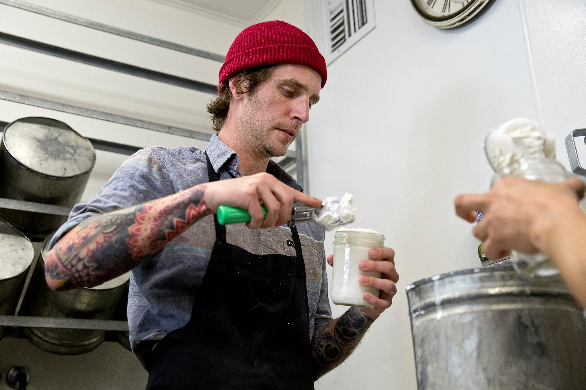 The molecular science behind a Larkspur shop's blueberry ice cream
