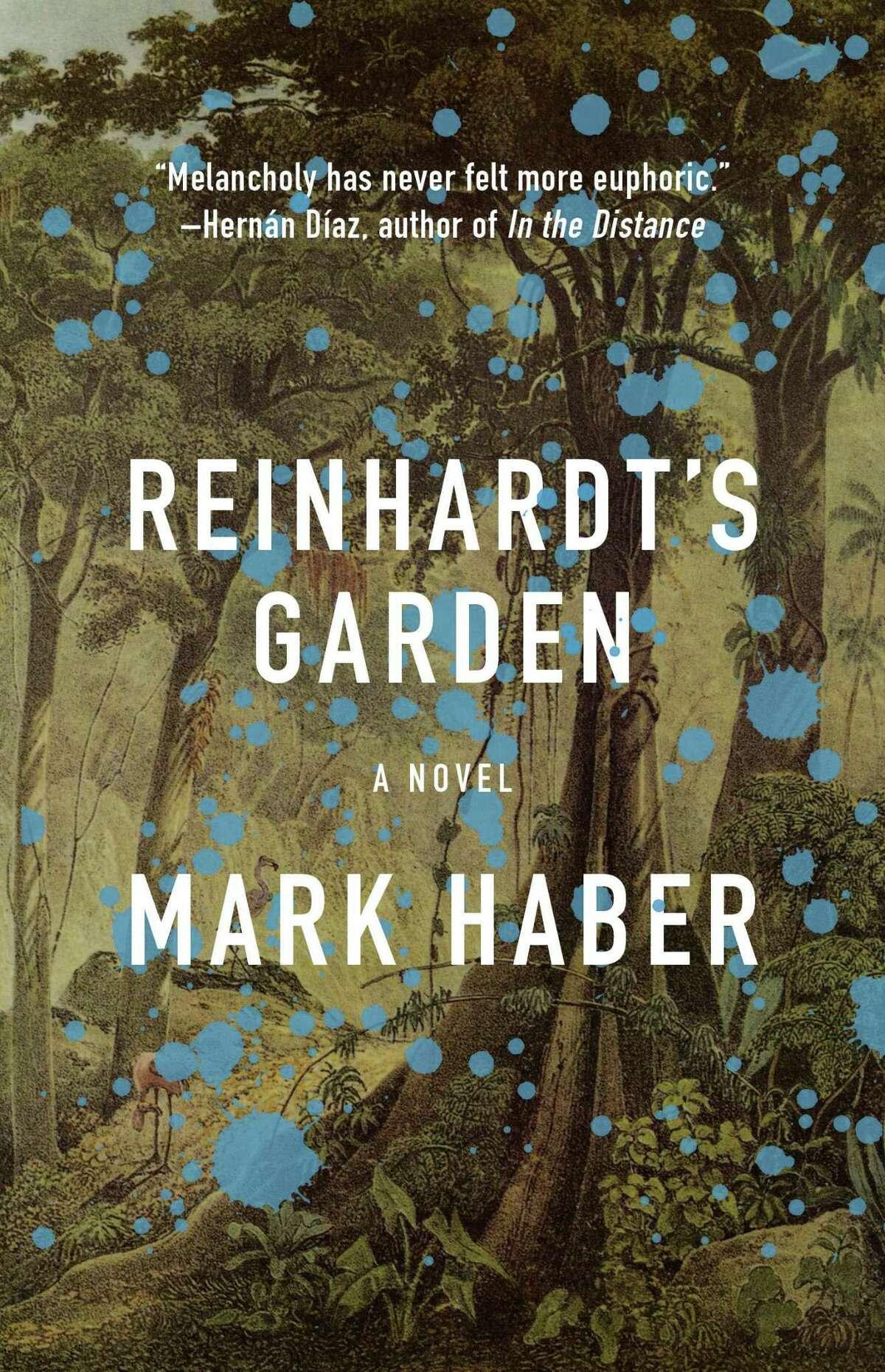Cover image for Reinhardt's Garden, a novel by Mark Haber