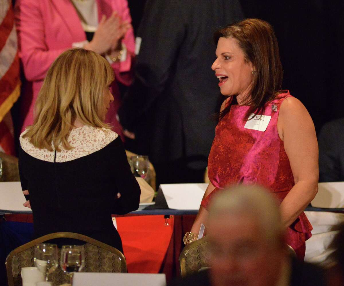 Leora Levy of Greenwich during the 36th annual Prescott Bush Awards Dinner at the Stamford Hilton, Stamford, Conn., Thursday night, April 10, 2014. Levy has been named U.S. ambassador to Chile.