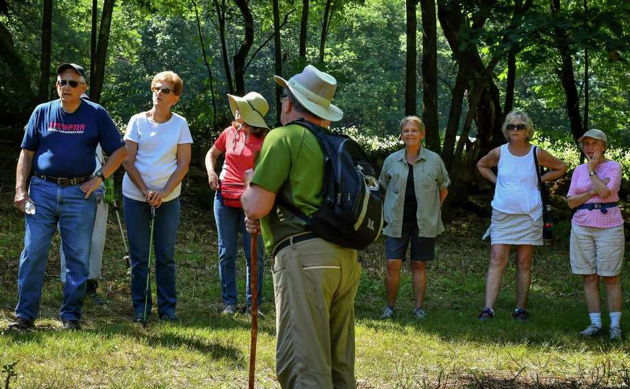Area seniors are invited on a leisurely, informative hike through Flanders' Van Vleck Sanctuary in Woodbury on Oct. 10. Photo: Contributed Photo