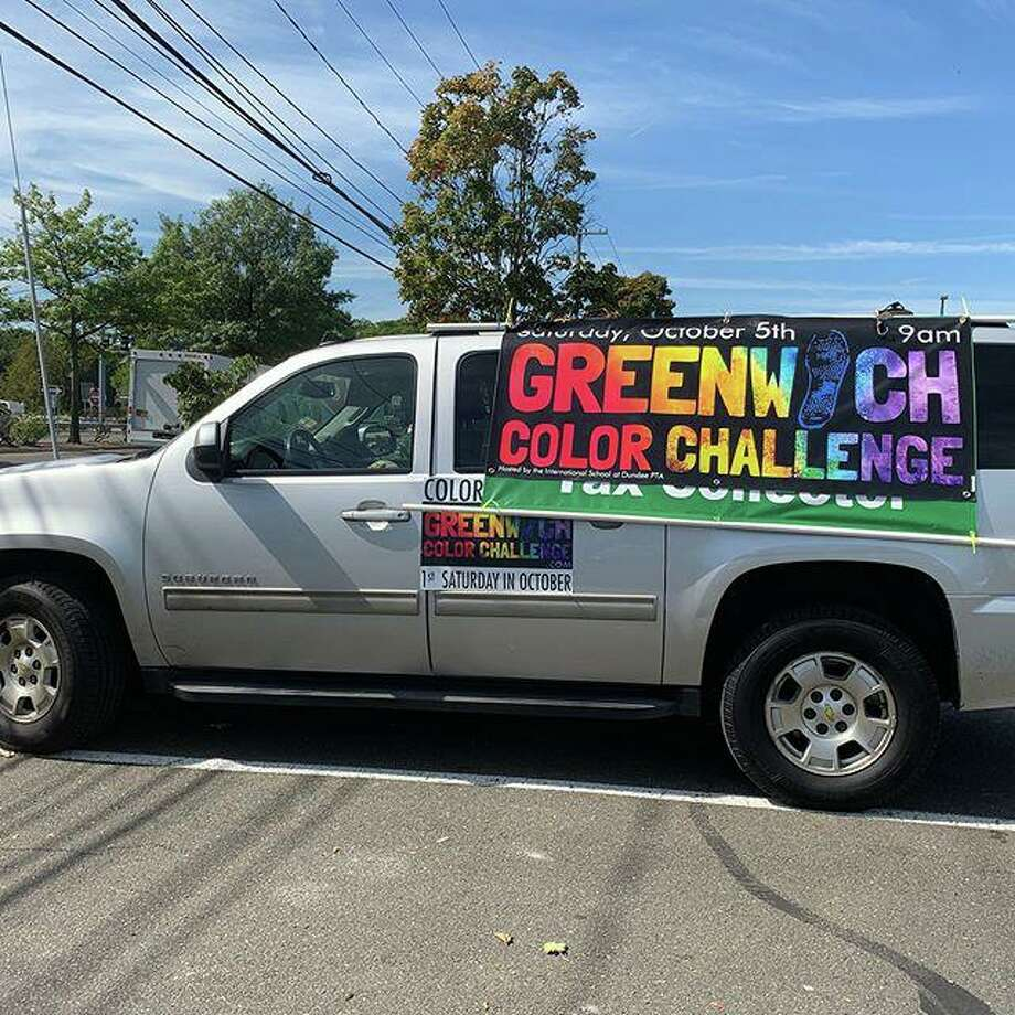 The 3rd annual Greenwich Color Challenge will take place October 5 in the town's Riverside section. Photo: Event Website