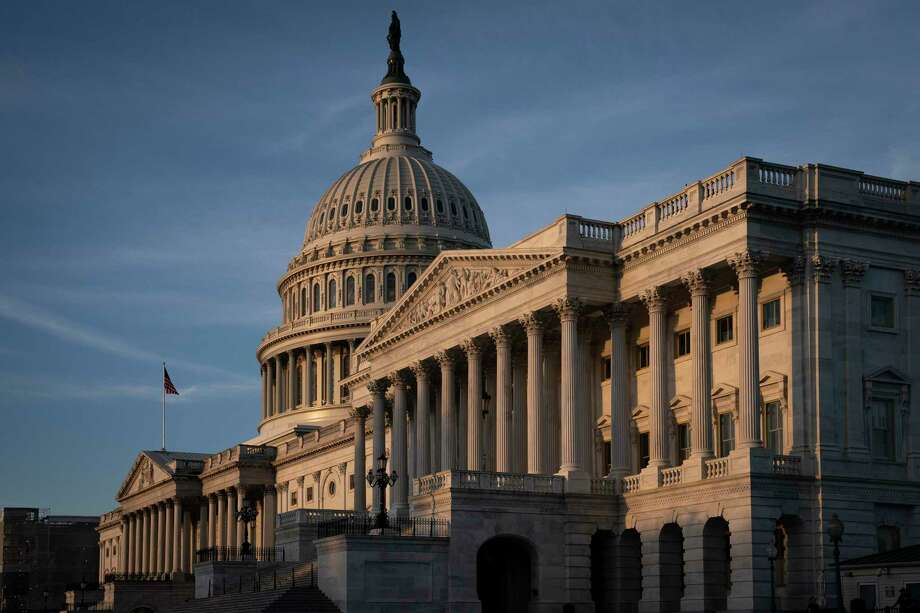 The Capitol is seen in Washington, early Friday, Sept. 27, 2019. (AP Photo/J. Scott Applewhite) Photo: J. Scott Applewhite, STF / Associated Press / Copyright 2019 The Associated Press. All rights reserved.