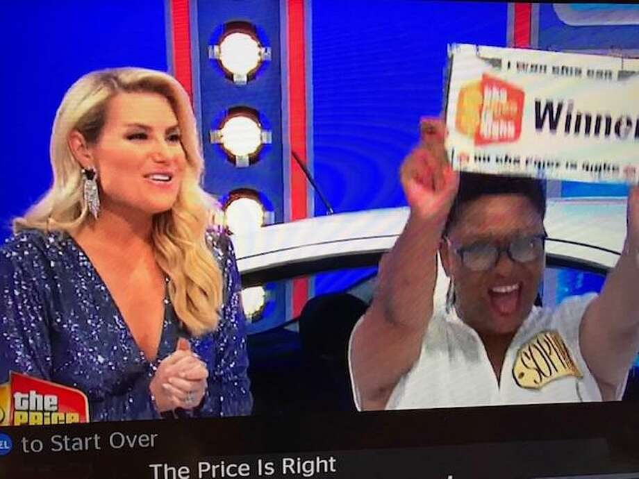 Sophia Lindsey of Spring was on The Price is Right last month, where she won a new car and an Xbox One. Photo: Courtesy Photos