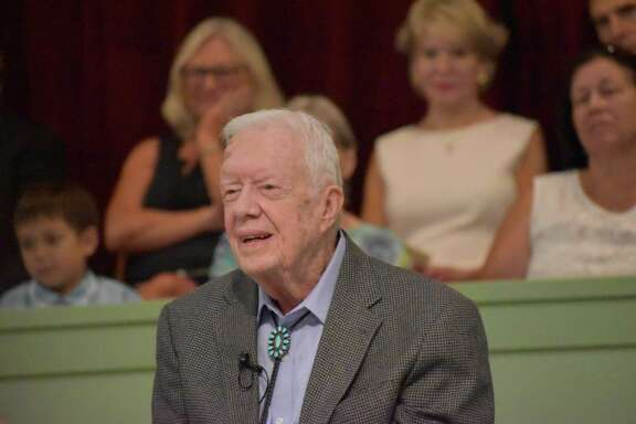 On a recent summer morning, President Jimmy Carter alluded to the Book of Matthew as a teaching tool for the Sunday School class he teaches at Maranatha Baptist Church near Plains. He teaches the class frequently, his schedule posted online at the church's website.