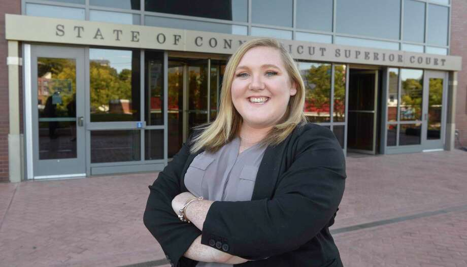 Last month, Mary-Caitlin Harding was sworn in as one of the newest deputy assistant state's attorneys at the state Superior Court in Danbury. Friday, September 27, 2019, in Danbury, Conn. Photo: H John Voorhees III / Hearst Connecticut Media / The News-Times