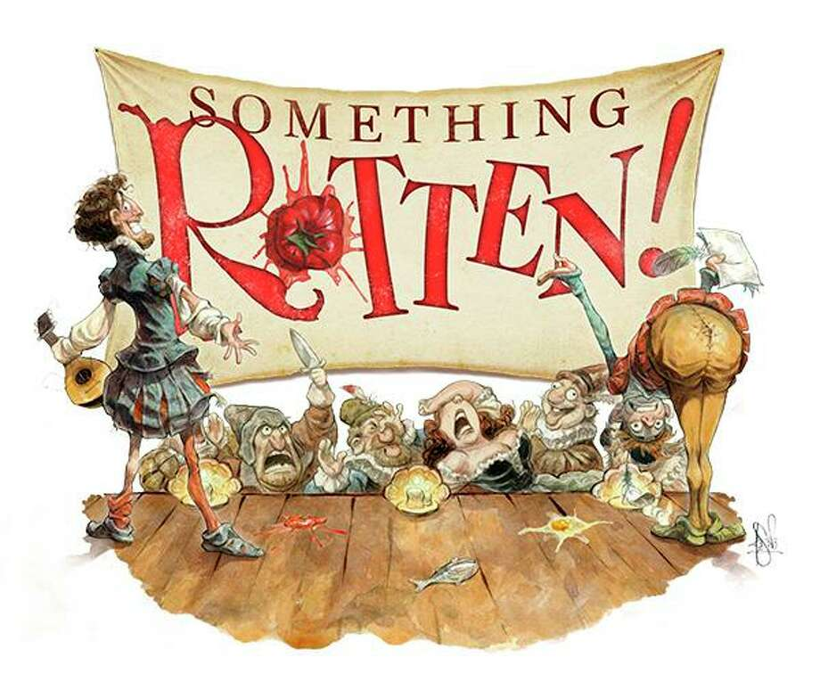 The Warner Stage Company will present the outrageous, crowd-pleasing musical farce, Something Rotten!, on the Main Stage Nov. 2-10. Photo: Warner Theatre / Contributed Photo