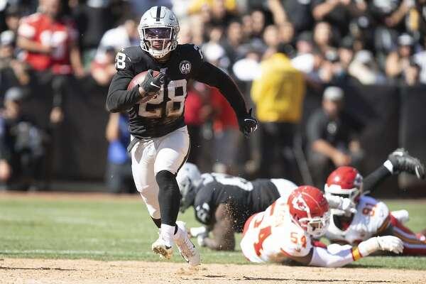 Raiders Josh Jacobs Seek Running Rhythm Sfchronicle Com