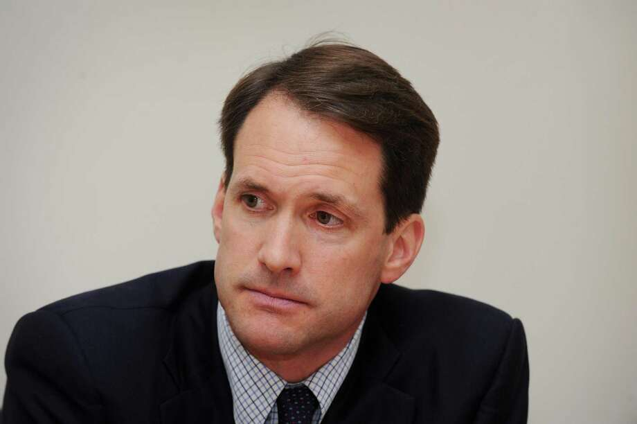 Democratic U.S. Representative Jim Himes (CT-4) was the first of the state's delegation to call for impeachment. Photo: Cathy Zuraw / Cathy Zuraw / Connecticut Post
