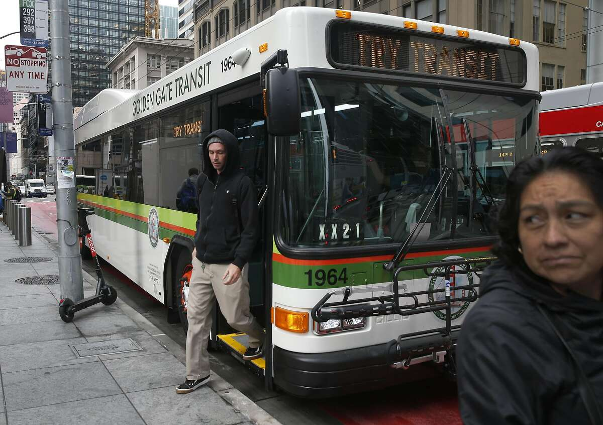 More than four dozen advocacy groups are calling on the Bay Area's head transit agency to delay capital projects and use the money to instead save jobs and service during the pandemic's economic crisis. Golden Gate Transit recently announced layoffs.
