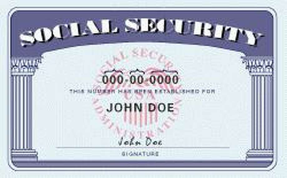 Social Security card Photo: Contributed Photo