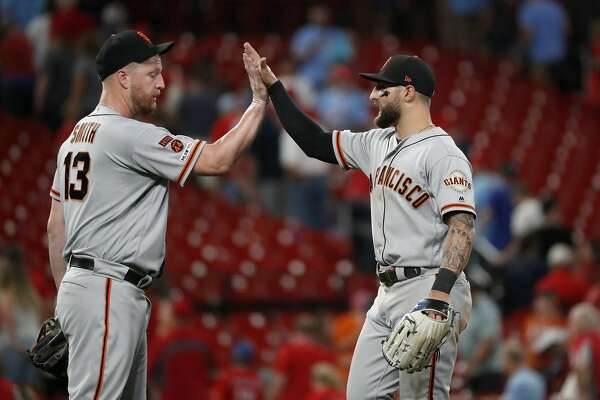 Giants outfielder Kevin Pillar wins coveted Willie Mac Award