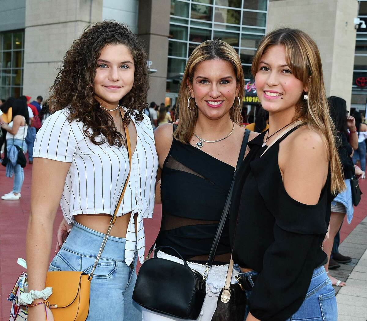 Fans outside the Maluma concert at the Toyota Center Friday Sept.27,2019.(Dave Rossman Photo)