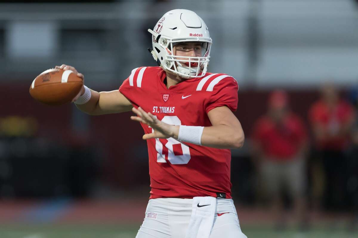 An invitation to the prestigious Elite 11 camp has seen St. Thomas quarterback Maddox Kopp's recruiting profile grow.