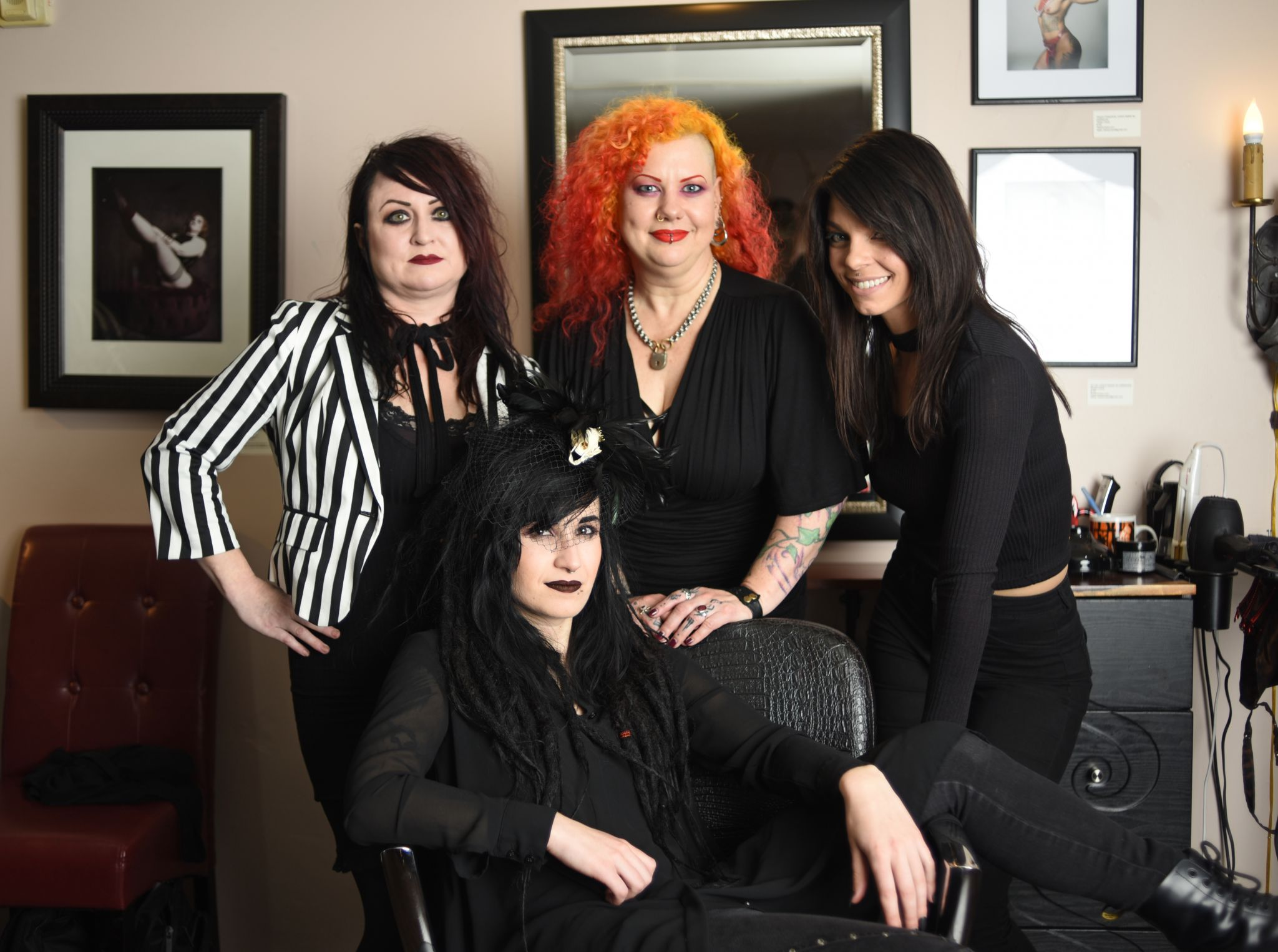 Amanda Rosa Play Boy inside san francisco's kink-friendly hair salon: 'my clients