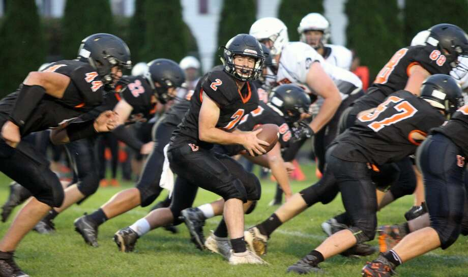 Harbor Beach spoils Ubly's homecoming game with a 29-14 victory on Friday, Sept. 27. Photo: Eric Rutter / Huron Daily Tribune