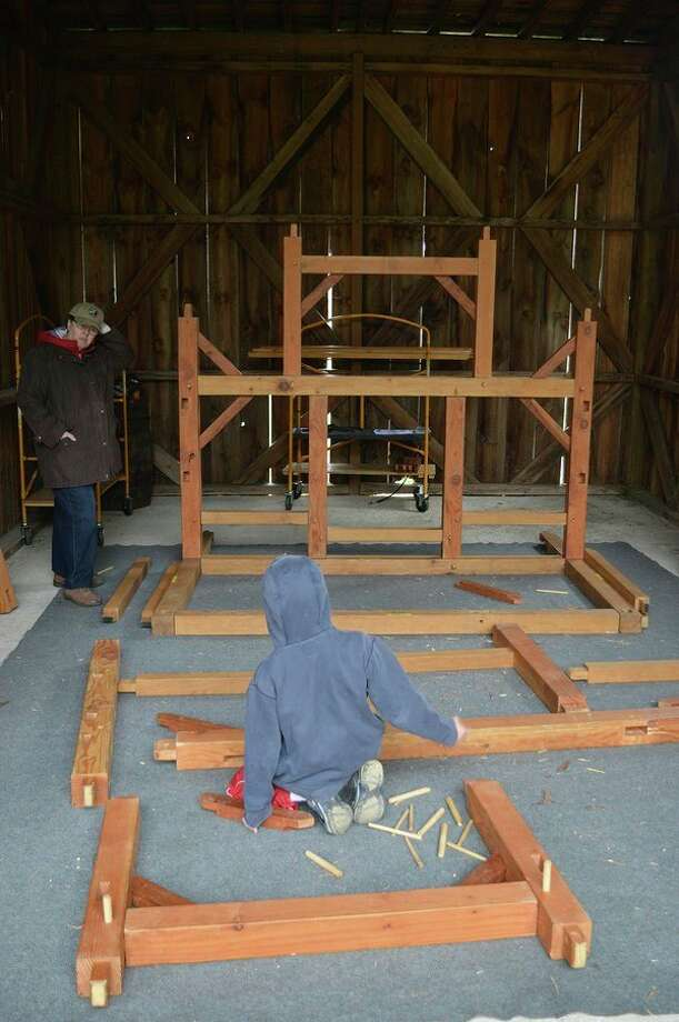 This is the quarter scale barn building at Chippewa Nature Center (Photo provided)