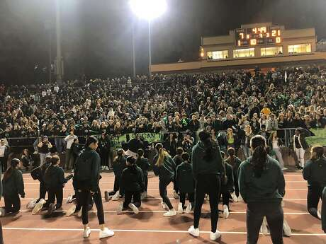 WCAL rivals Sacred Heart Cathedral and St. Ignatius drew approximately 5,000 fans to Kezar Stadium in San Franciscon on Friday, Sept. 27, 2019.
