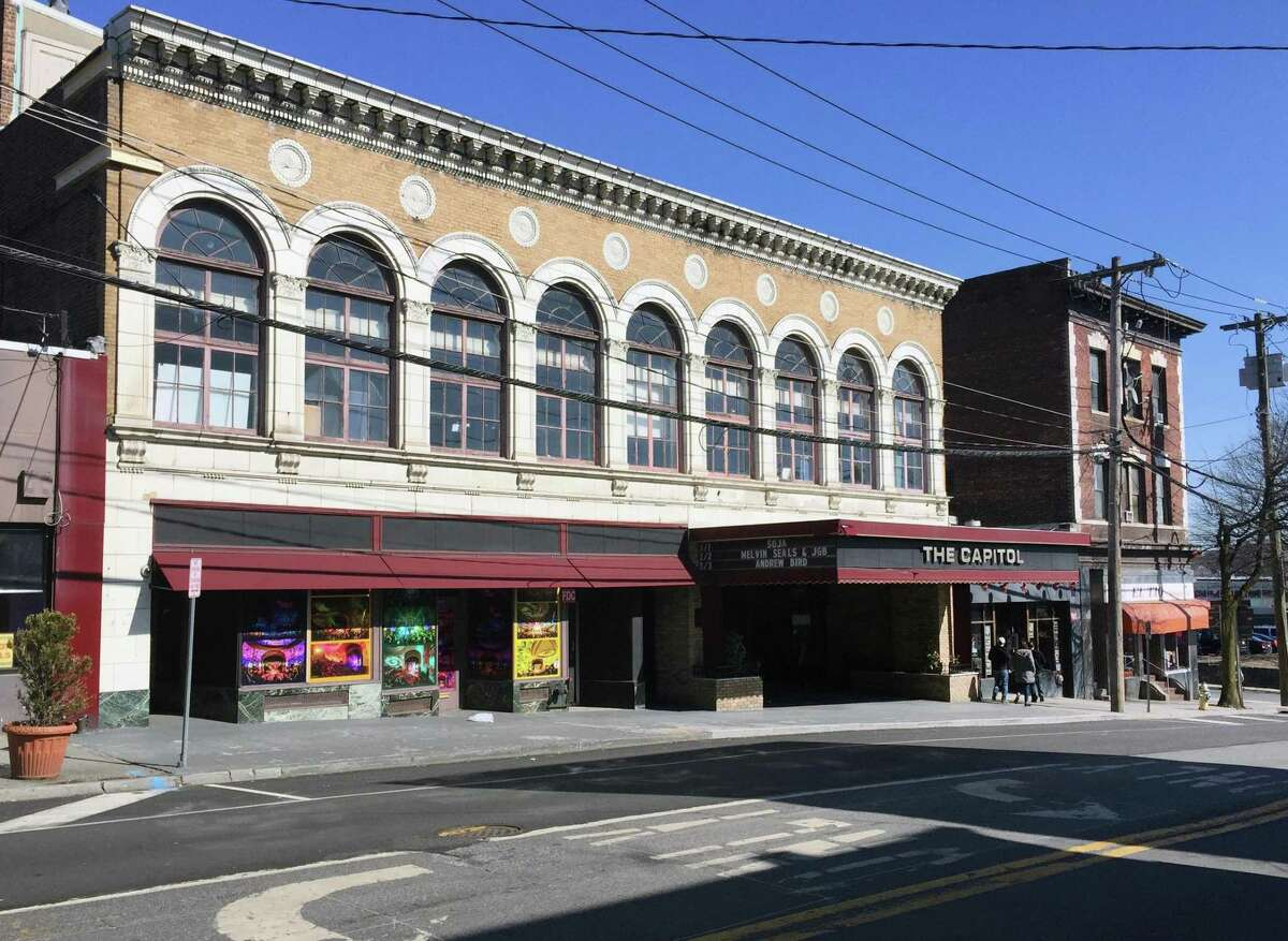 The historic Capitol Theatre at 149 Westchester Ave., in Port Chester, N.Y., Tuesday, Feb. 27, 2018. The six shows are set to coincide with the 50th anniversary of the Grateful Dead's shows at the same venue.