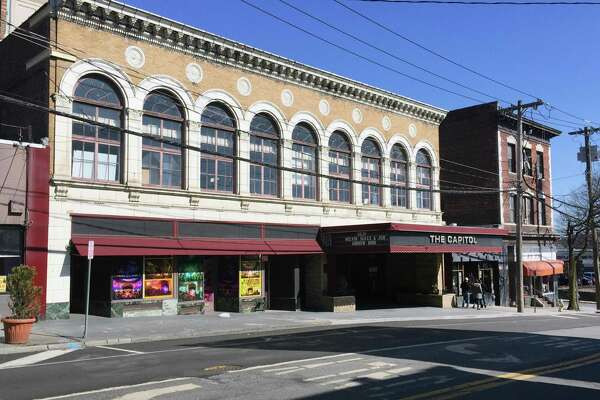 The historic Capitol Theatre at 149 Westchester Ave., in Port Chester, N.Y., Tuesday, Feb. 27, 2018.