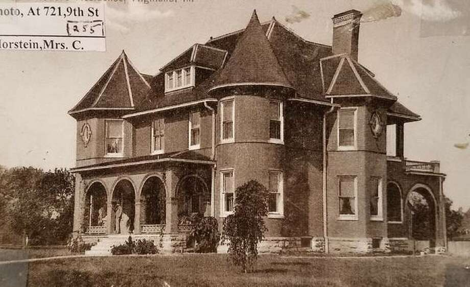 The John Wildi Masonic Temple, shown here shortly after it was built in 1900, is the venue for this year's Madison County Historical Society Dining in History on Nov. 3