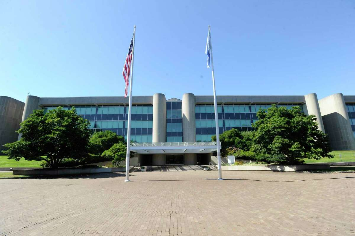 Stamford is considering leasing the old GE campus at 800 Long Ridge Road to build new schools and relocate students.