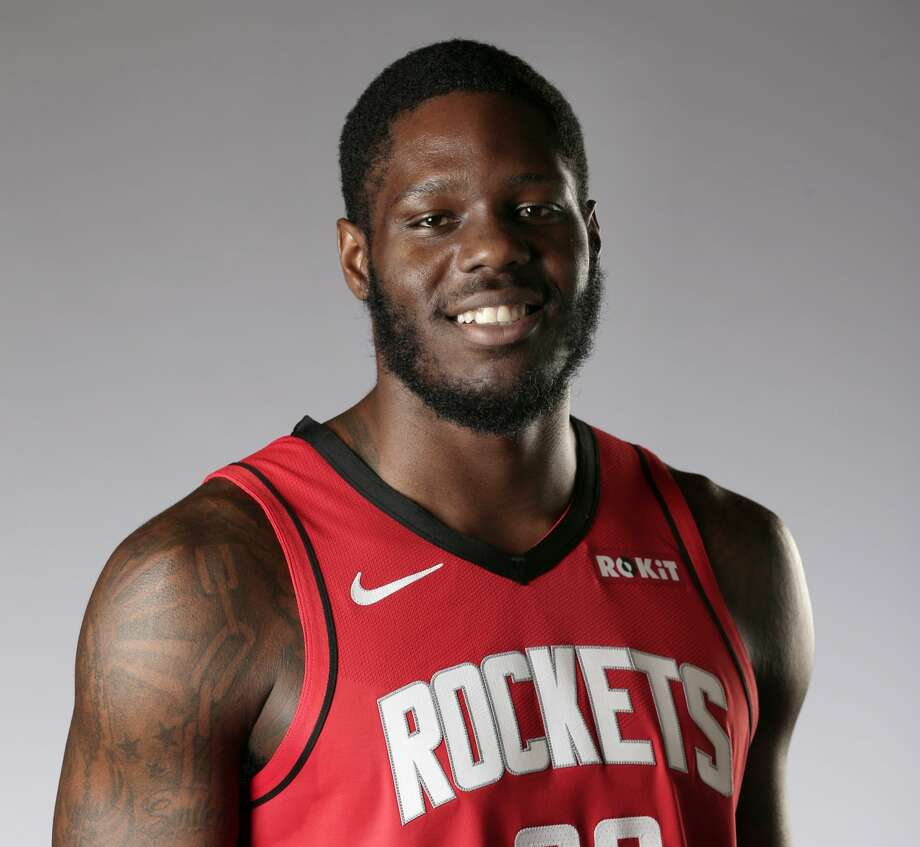 Houston Rockets' Anthony Bennett during Rockets media day Friday, Sept. 27, 2019, in Houston. (AP Photo/Michael Wyke) Photo: Michael Wyke/Associated Press