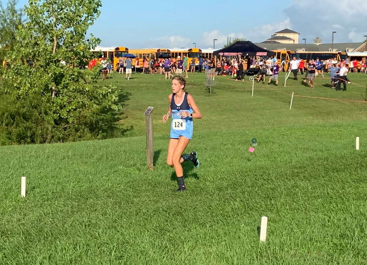 George Ranch's Haley Harkrider makes her third trip to the UIL state cross country championships, including two appearances with Clements (pictured).