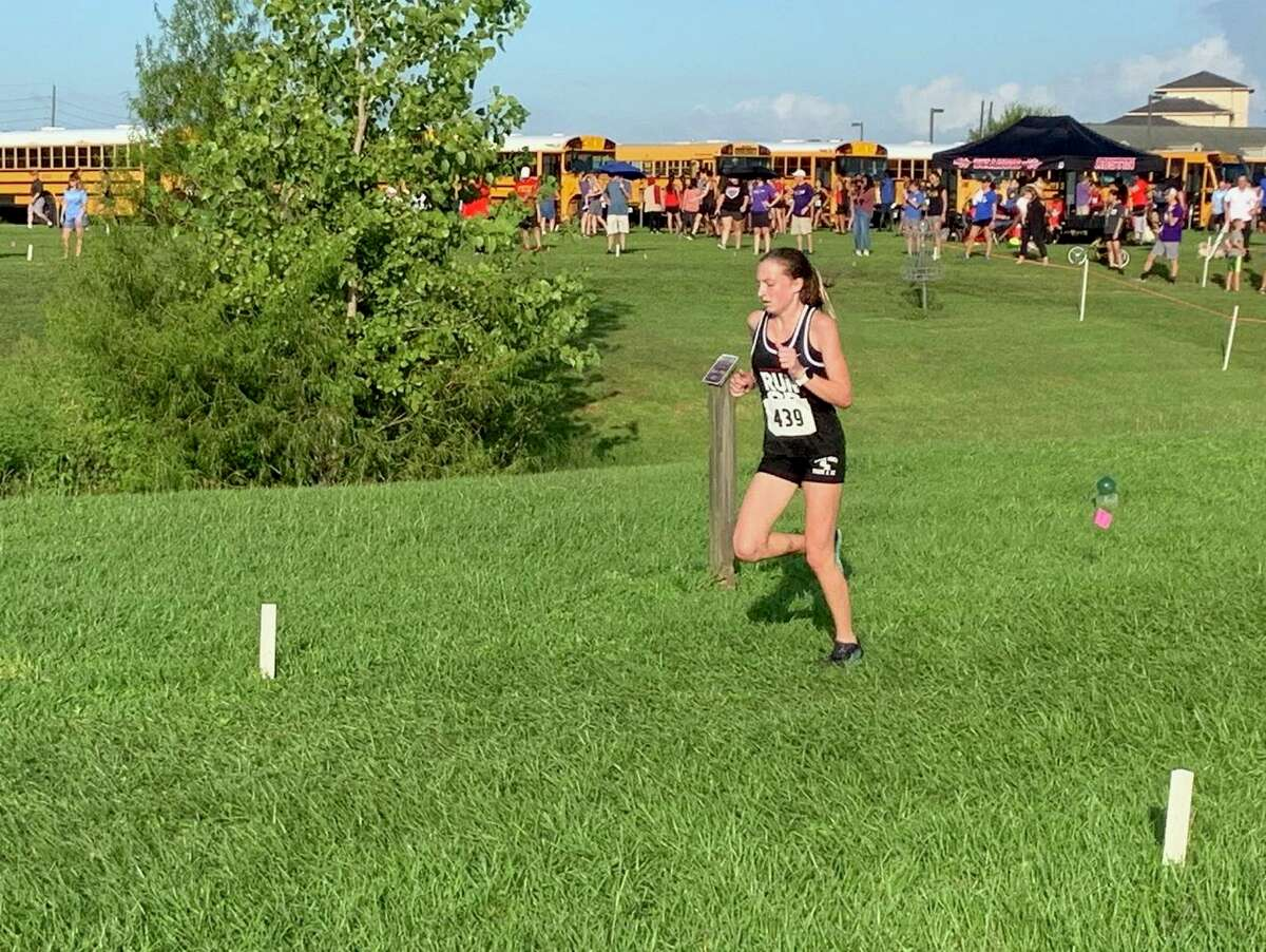 George Ranch's Madison Haldiman was the runner-up in the varsity girls division of the Kempner Cougar Classic, Sept. 27 at Imperial Park in Sugar Land, leading the Longhorns to the team championship.