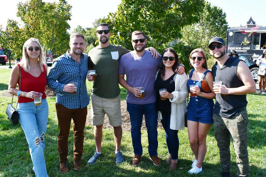 "Stamford's Half full Brewery hosted Oktoberfest In The Park on September 27-28, 2019. The Oktoberfest-style event featured local food trucks, a ""garden"" themed Pop-Up Beer Garden and Live Music. The festival is held in support of the Mill River Park Collaborative and takes place on The North Lawn & Grand Steps in Mill River Park in downtown Stamford. Were you SEEN? Photo: Vic Eng / Hearst Connecticut Media Group"