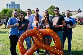 "Stamford's Half full Brewery hosted Oktoberfest In The Park on September 27-28, 2019. The Oktoberfest-style event featured local food trucks, a ""garden"" themed Pop-Up Beer Garden and Live Music. The festival is held in support of the Mill River Park Collaborative and takes place on The North Lawn & Grand Steps in Mill River Park in downtown Stamford. Were you SEEN?"