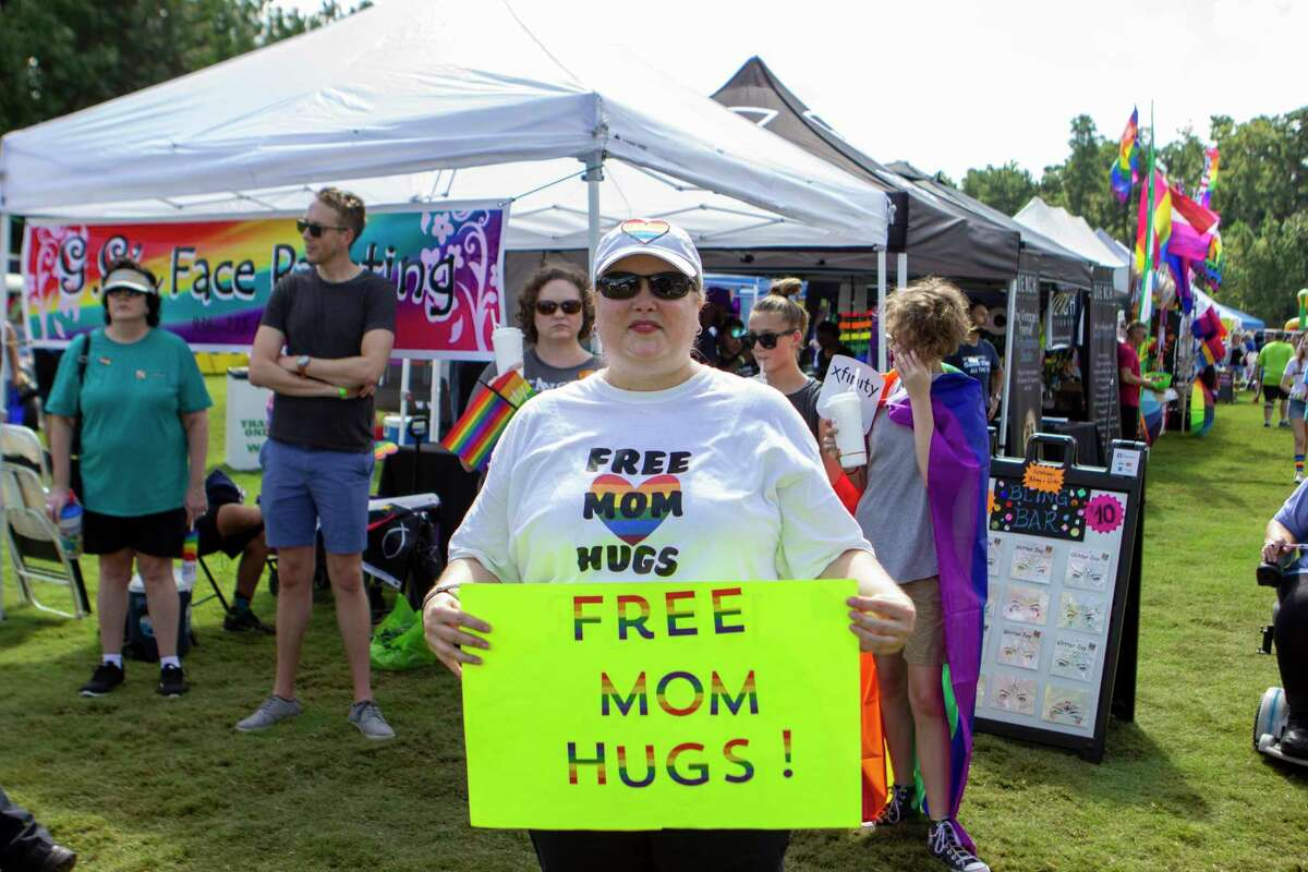 Scenes from during The Woodlands Pride Festival on Saturday, September 28, 2019 at Town Green Park in The Woodlands.