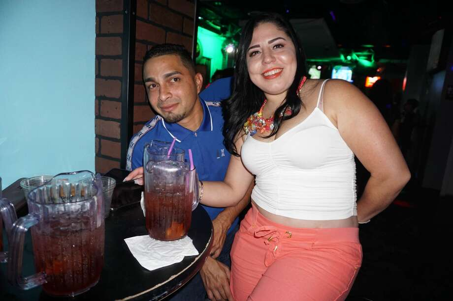Luis and Maria Rodriguez at The Happy Hour Downtown Bar Photo: Jose Gustavo Morales