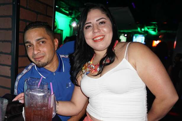 Luis and Maria Rodriguez at The Happy Hour Downtown Bar