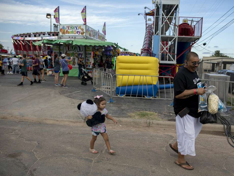 Scenes from St. Ann's Fair on Saturday, Sept. 28, 2019 at St. Ann's Catholic Church. Photo: Jacy Lewis/Reporter-Telegram