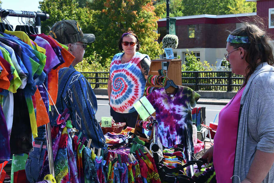 The Friends of Main Street Winsted Fall Foliage Festival was held September 28, 2019. The annual event celebrates the season with food trucks, activities, local vendors and music. Were you SEEN? Photo: Lara Green-Kazlauskas /Hearst Connecticut Media