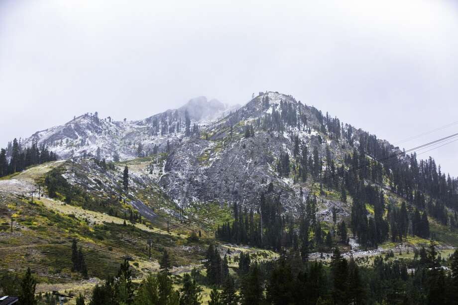 Squaw Valley Alpine Meadows celebrated snow on Sept. 281. 2019. Photo: Squaw Valley Alpine Meadows