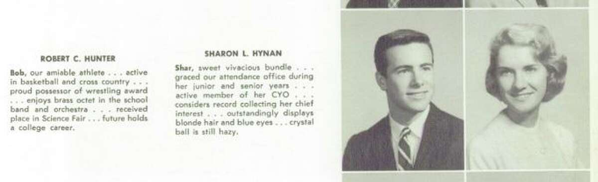 A Stamford High School Class of 1959 yearbook shows Robert C. Hunter during his time at the school. He was known as an