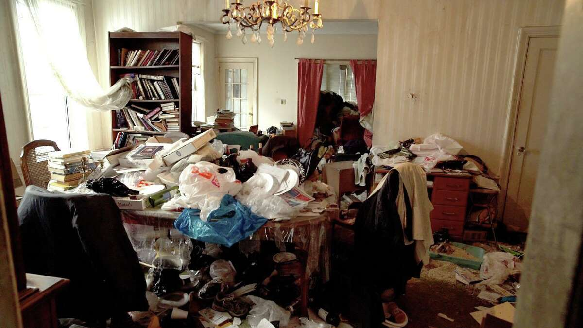 A photo of a Brooklyn home before it was cleaned by Nicole Levine's organization, HCH Management.