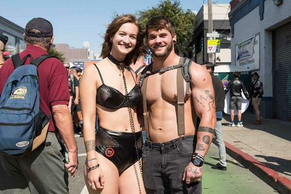 """The weather was beautiful for the 35th annual Folsom Street Fair, which hosted """"longtime leather daddies"""", """"rosy-cheeked newcomers"""", and everyone in between.Sunday, September 29th, 2019."""